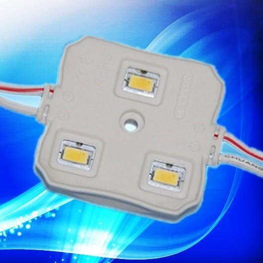 Quality watrproof 12volt smd5630 led injection module 3leds/LED module 5630 140Deg for sale