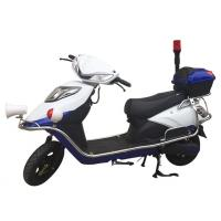 Security Two Wheeled Patrol Electric Scooter Bike Moving And Lighting Motor GM026 Manufactures