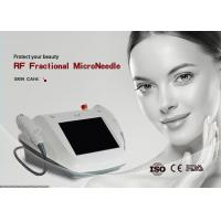 Portable RF Micro Needle Machine Foot Switch For Face Lifting Skin Tightening Manufactures