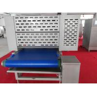 China Heatable Cutter Dough Laminator Machine with 4500 Kg/Hr Capacity for Flatbread Dough Processing on sale