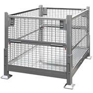 Heavy Duty Steel Baskets Stainless Steel Container Wire Mesh Basket Wire Container Manufactures