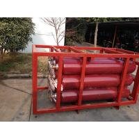 ISO9809 Large Capcity CNG Cylinder Compressed Natural Gas Storage Tank Cascade Manufactures