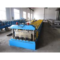 Quality Roof Construction Deck Roll Forming Machine With 30 Groups Rollers for sale