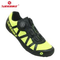 Rubber Durability Sole Casual Biking Shoes , Wear Resistant Mens Mountain Bike Trainers Manufactures