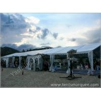 8x27M Outside custom event tents Aluminum Frame Built on the Coast Manufactures