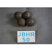 B2 D 50mm Grinding Media Steel Balls for Cement Plants / Power Plant 62 - 63hrc