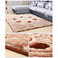 SHIMAX 5D Modern Polyester Handmade Shaggy Carpet for Living Room New Design