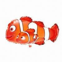 Clown Fish Helium Balloons, Made of Mylar/Polyamide Manufactures