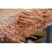Copper Coated Compressor Tubes , Double Wall Weld Pipes 3.6 * 0.5 mm For Refrigeration System Manufactures