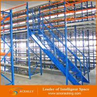 Factory Price Nanjing Mezzanine floor racking system Manufactures