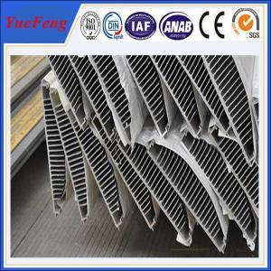 China 6063 T5 aluminum telescopic profile heating radiators aluminum plate price per kg on sale