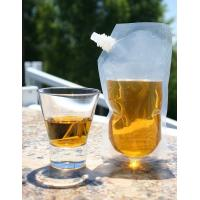 Puncture Resistant Spout Liquor Pouch Ideal For Travel Flask with Funnel Manufactures