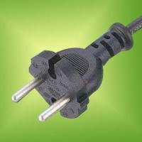 Power Cord with European ICE 60884-1 and CEE (7) XVII Standards Manufactures