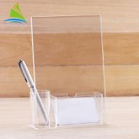 Modern Customized Freely Soluble In Multiple Organic Acrylic Tag Holder On Table Manufactures