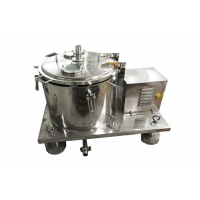 Vertical PPTD Top Discharge Basket Centrifuge For Hemp And Alcohol Extraction Manufactures