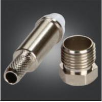 Quality Precision FME Male Connector With Thread FME Bulkhead Plug For RG-174 RG-316 RG for sale