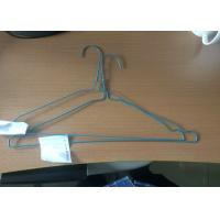 Household Plastic Coated Wire Coat Hangers Smooth Surface Laundry Clothes Hanger Manufactures
