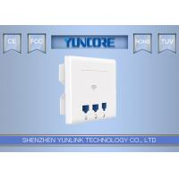 2.4G 300Mbps Band In Wall Wireless Access Point 802.3af POE Support 802.1Q Vlan Manufactures