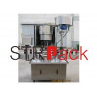 Quality Screw aluminum capping machine for agrochemical , foodstuff  industries wholesale