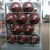 34CrMo Seamless Cascade CNG Storage Tanks / Natural Gas Cylinder Manufactures