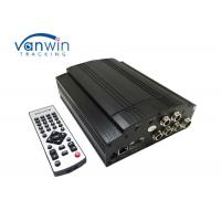 China 2.5  Sata Hard Disk GPS Mobile DVR , 4 Channel Car Camera Recorder 2TB HDD on sale