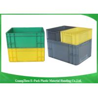 PP Plastic Logistic Euro Stacking Containers For Food Clothes Auto Medical 21.2L Manufactures