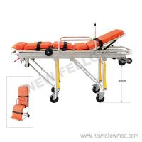 NF-A3-1(diameter 150mm wheel)China Emergency Ambulance Stretcher Cot Manufactures