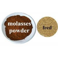 Pure Natural Dry Molasses Fertilizer , Animal Feed Grade Molasses 5-6 PH Manufactures