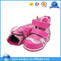 China Fancy Pink Baby Comfort Sole Girls Shoes Import Baby Shoes China on sale
