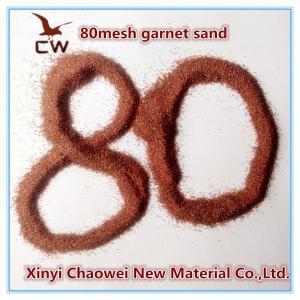 China water jet cutting 80 mesh garnet sand on sale