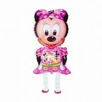 Buy cheap Minnie Mouse Walking Pet Balloons, Inflated with Helium Gas from wholesalers