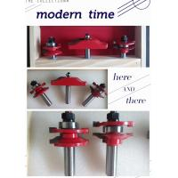 """Rail & Stile With Panel Bit Router Bit Set - Ogee - 1/2"""" Shank Manufactures"""