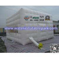 White 4x4M Inflatable Portable Inflatable Camping Tent For Outdoor Event Manufactures
