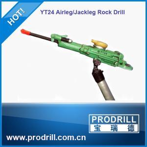 Yt24 Horizontal Pneumatic Airleg Rock Drill Machine Manufactures