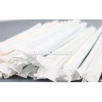 Automatic Single Drinking Straw Packing Machine Packing / Wrapping for Paper Straw Manufactures