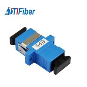 Good Stability Fiber Optic Attenuator Singlemode Simplex SC SC Fixed 1db/5dB Manufactures