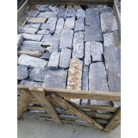 China Blue Quartzite Loose Ledge Stone Natural Stone Veneer Loose Strips Wall Cladding From Factory For Exterior Wall Stone on sale