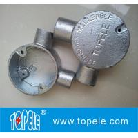 GI BS4568 Conduit Fitting 20mm 25mm 32mm 90 Angle Way Circular Junction  Box Manufactures