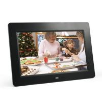 China Decorative Desktop 10 Inch Video POP LCD Display With Colorful Frame LOGO Print on sale