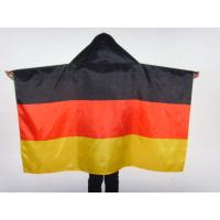 Brazil Football Flag Cape World Cup Theme Polyester Body Flags For Soccer Event Manufactures