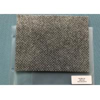 Heat Non - woven Charcoal Needle Punched Felt With Anti - slip Sesame Dots Manufactures