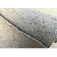 Stable Fiber Grey Felt Fabric High Thermostability Customized Length Width Manufactures
