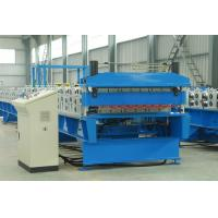 Cheap Double Layer Sheet Metal Roll Former Machine With Steel Structure Cladding for sale