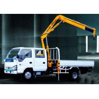 Folding Boom Truck Mounted Crane, 6.72 T.M Hydraulic Truck Crane xcmg Manufactures