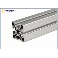 Europen Style Bosch Rexroth  50mmX50mm T Slotted V Slot Industrial Aluminium Profile Manufactures