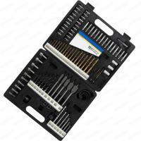 Quality 101pcs Metal Case Packaging Drill Bit Set with Masonry Drill Bit and SCREWDRIVER for sale