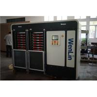 PC / PET materials id card lamination machine Heating 12 stages Pressure