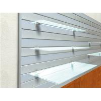 Supermarket Clear Tempered Glass Shelves Impact Resistance Manufactures