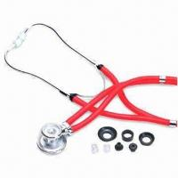 Multifunction Sprague/Rappaport Stethoscope, Made of Zinc Alloy, with Thick-walled Tube Manufactures
