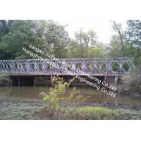 Mabey Galvanized Steel Bridge Portable Permanent Bailey Steel Structure Decking Manufactures